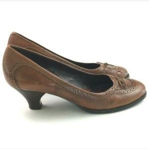 Aerosoles What's What Brown Round Toe Heels 8.5B